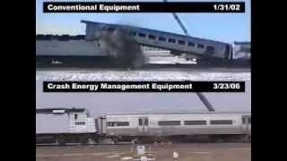 Train-To-Train Passenger Car Crash Test