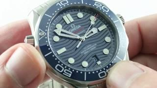 2018 OMEGA SEAMASTER (BLUE / BOND) Diver 300m (Steel) 210.30.42.20.03.001 Luxury Watch Review