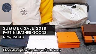 NEW Men's Luxury Summer Sale 2018 Pt. 1 – Leather goods: Hermès, Louis Vuitton, Fendi & more