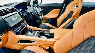 2020 Jaguar F Pace SVR - FASTEST Compact Luxury SUV (550HP)