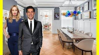 John Krasinski & Emily Blunt $8000000 Brooklyn Townhouse Tour Luxury Lifestyle 2018