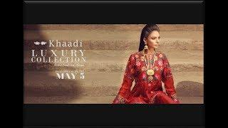 KHAADI LUXURY COLLECTION|| Khaadi Unstitched Collection Exclusive Designs For Eid {Limited edition)