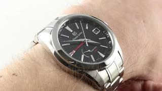 Grand Seiko Spring Drive GMT SBGE211 Luxury Watch Review