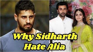 Why Sidharth Malhotra Avoid To Alia Bhatt