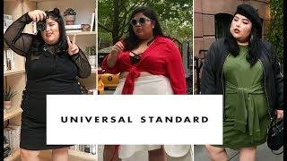 I WORE A PLUS SIZE LUXURY BRAND FOR A WEEK (Universal Standard)