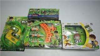Ben 10 Flying Helicopter, 360 Degree Stunt Car,Train,Luxury Bus and more