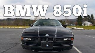 1991 BMW 850i V12: Regular Car Reviews