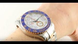 Rolex Yacht-Master II 116681 Luxury Watch Review