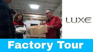 Factory Tour - Luxe Brand luxury fifth wheels and luxury toy haulers