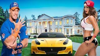 John Cena And Nikki Bella Luxury Lifestyle 2018