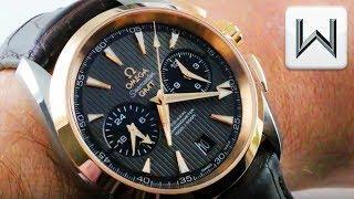 Omega Seamaster Aqua Terra 150m GMT Chronograph (231.23.43.52.06.001) Luxury Watch Review