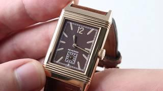 Jaeger-LeCoultre Grande Reverso Ultra-Thin 1931 Chocolate  (Q2782560) Luxury Watch Review