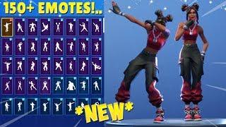 LUXE SKIN FORTNITE DANCES WITH 150+ EMOTES!