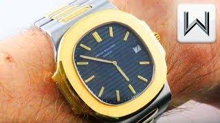 Patek Philippe Nautilus Jumbo: Original Monobloc 3700  (3700/11) Luxury Watch Review