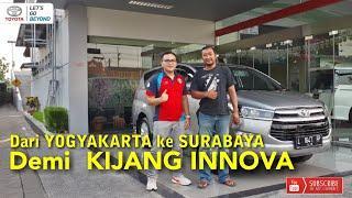 NEW INNOVA DIESEL TYPE V MT LUXURY 2018 - DAPAT CUSTOMER DARI YOGYAKARTA