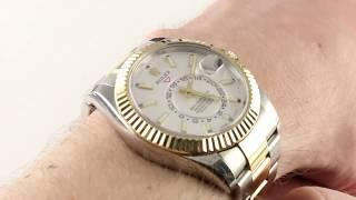 Rolex Sky-Dweller 326933 Luxury Watch Reviews
