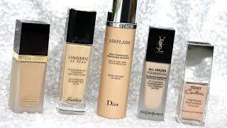 BEST Luxury Foundations TESTED | Review & Wear Tests