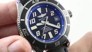 Breitling Superocean Abyss A1736402/BA30 Luxury Watch Review