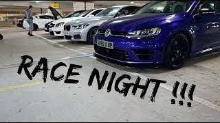 RACING MAD CARS IN MY *410BHP GOLF R* THIS IS SURPRISING!!