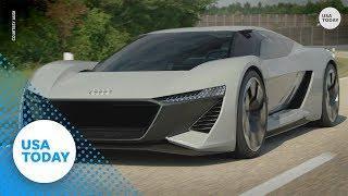 Audi's sleek electric car won't 'purr' like most sports cars