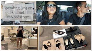 Luxury Shoe Shopping With $24 at Nordstrom | Vlog | Francesca Fox