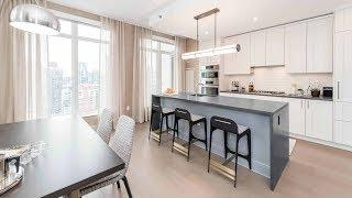 A high-style luxury 2-bedroom, 2-bath model at Streeterville's classy One Bennett Park