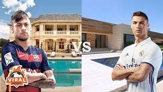 Cristiano Ronaldo & Neymar luxury houses
