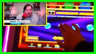 Brent Reacts To A MASSIVE WIN on Life of Luxury Progressive Slot Machine With SDGuy1234