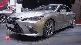 2019 Lexus ES 300h F-Sport - Exterior And Interior Walkaround - 2018 Paris Motor Show