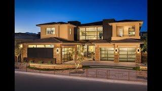 $2,500,000 Summerlin NV: Award-Winning Luxury Modern Model Home in Black | Silver Ridge 3