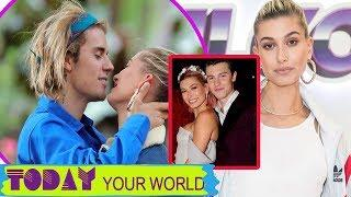 Justin Bieber constantly kissed Hailey Baldwin on a luxury yacht in Italy