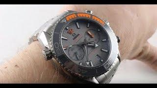 Omega Planet Ocean Chronograph (TITANIUM) 215.90.46.51.99.001 Luxury Watch Review