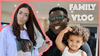 DRIVING THROUGH LONDON | Family Vlog DITL