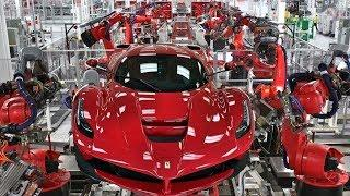 Fast Extreme Automatic Car Manufacturing Factory, Modern Mercedes Benz  Assembly Technology
