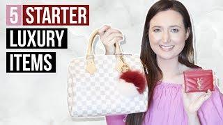 5 LUXURY STARTER PIECES FOR BEGINNERS