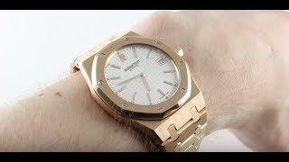 Audemars Piguet Royal Oak Ultra-Thin 15202OR.OO.0944OR.01 Luxury Watch Review