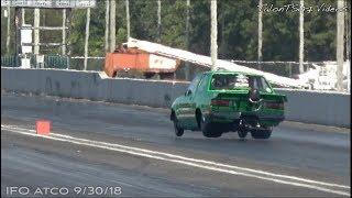 All 4 Wheels Off The Ground | Caneca Racing 2JZ Corolla |