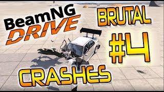 BEAMNG DRIVE - #4 BRUTAL CRASHES - ULTRA REALISTIC