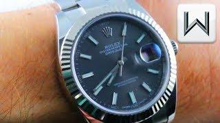 Rolex Datejust 41 White Gold / Stainless Steel (126334) Luxury Watch Review