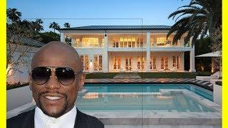 Floyd Mayweather House Tour $26000000 Luxury Expensive Mansion In Beverly Hills