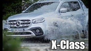2019 Mercedes X350d 4MATIC  - more power and luxury for high-end pick up