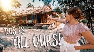 Luxury Beach Resort in Koh Rong! Sok San Villa