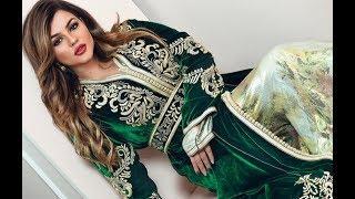 كوني الملكة مع القفطان اخضر الملكي موضة Top Caftan Vert Collection Lux 2018