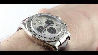 Rolex Daytona 116519 Luxury Watch Review