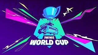 FORTNITE WORLD CUP - Luxe Cup | Day One [LIVE]