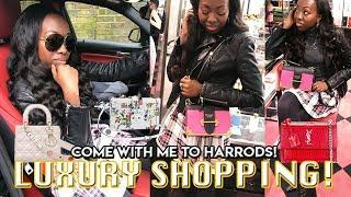 Come Luxury Shopping with me in Harrods + New BMW! | Duchess of Fashion
