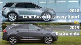 2018 Land Rover Discovery Sport vs 2019 Kia Sorento (technical comparison)