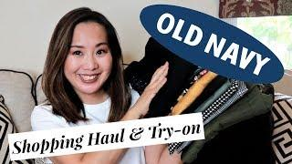 Old Navy & Gap Shopping Haul | Affordable Fall Basics | October 2018
