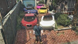 GTA 5 - Stealing Luxury Cars with Franklin! (Expensive Rare Cars)
