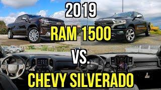 LUXURY TRUCK FACEOFF -- 2019 Chevy Silverado vs. 2019 RAM 1500: Comparison